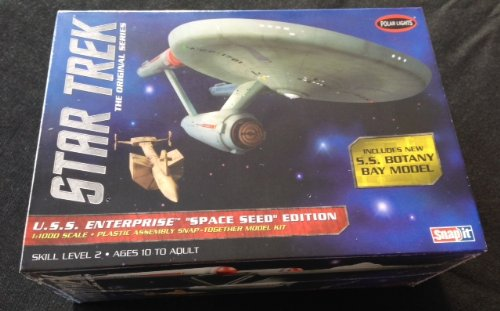 1 1000 Star Trek TOS USS Enterprise Space Seed Ed