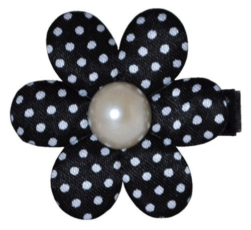 "Bow Allure ""Englewood"" Polka Dot Hair Clip for Girls"