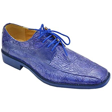 roberto chillini s 6442 dress shoes royal blue 6 5 m