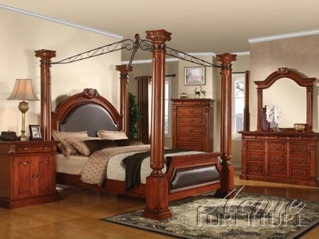 Discount Canopy Beds 8216 front