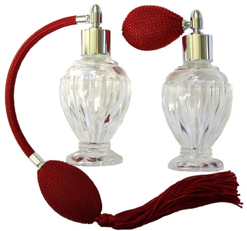 Vintage Perfume Atomizer-Red Bulb and Tassel