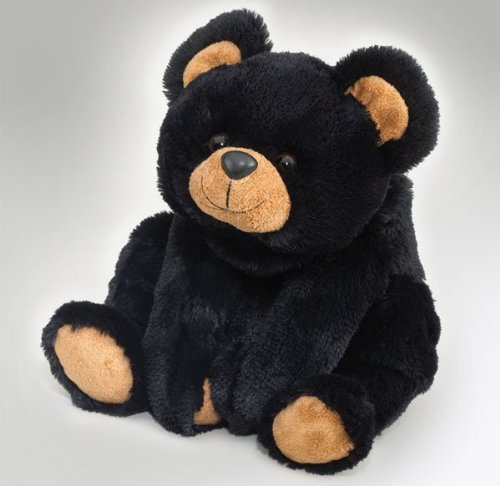 Black Teddy Bear - Smokey Black Bear - 18