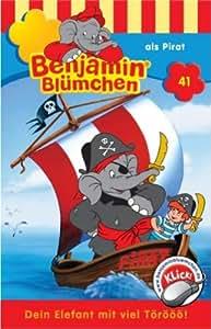 Benjamin Blümchen - Folge 41: als Pirat [Musikkassette]