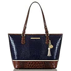 Medium Asher Tote<br>Ink Tri-Texture