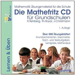 Die Mathefritz CD für Grundschulen (PC+MAC)