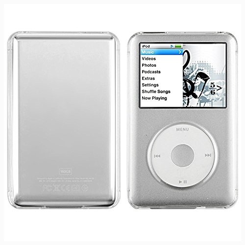 Cristal housse coque etui rigide snap in protection case for Housse ipod classic
