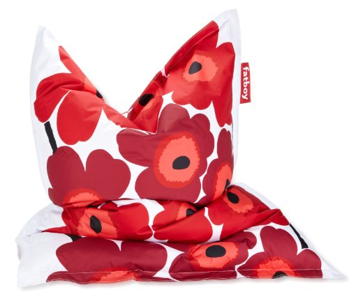 FATBOY The Marimekko Original in red and white with a hint of black.