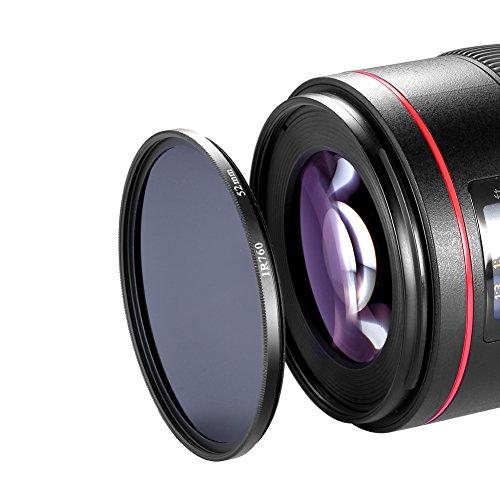 Neewer 52mm Filtre Infrarouge 760NM IR760 Pour Appareil Photo Reflex Numérique Avec Un Objectif 52mm