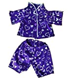 Purple Heart Pj's Pyjamas Fit 15 Inch Build A Bear