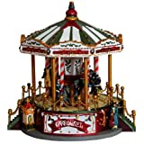 Brubaker Horse Carousel With LED, Christmas Sound And Animation 23.5x28 CM