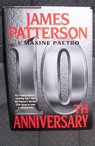10th Anniversary (large print, James Patterson & Maxine Paetro), James Patterson & Maxine Paetro
