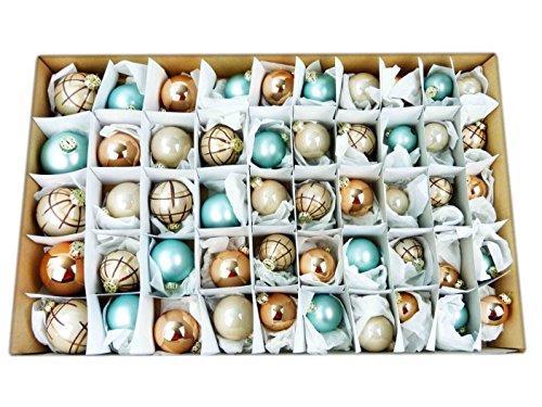 50-tlg-Weihnachtskugeln-Set-GLAS-4-Gren-Christbaumkugeln-Baumschmuck-Weihnachtsbaum