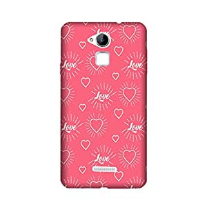 PrintRose Coolpad Note 3 back cover - High Quality Designer Case and Covers for Coolpad Note 3 love