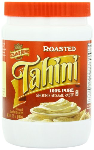 Sesame King Tahini Paste, 32-Ounce Jars (Pack of 2)