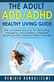The Adult ADD/ADHD Healthy Living Guide: The complete resource for alleviating, managing, and possibly completely reverting Adult Attention Deficit Disorder
