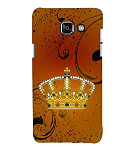 Crown 3D Hard Polycarbonate Designer Back Case Cover for Samsung Galaxy A3 (2016) :: Samsung Galaxy A3 2016 Duos :: Samsung Galaxy A3 2016 A310F A310M A310Y :: Samsung Galaxy A3 A310 2016 Edition