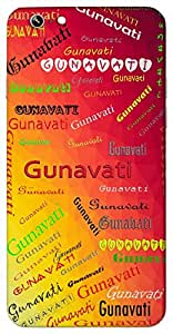 Gunavati (Honorable) Name & Sign Printed All over customize & Personalized!! Protective back cover for your Smart Phone : Samsung Galaxy E5