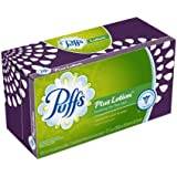 Puffs Plus Lotion Facial Tissues;124 Tissues Per Box (Pack of 24)