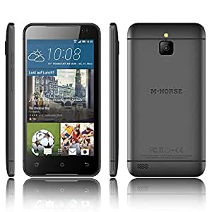 M Horse 5 screen 1.3 Quad Core High Performance Dual SIM Smart Phone Black A9