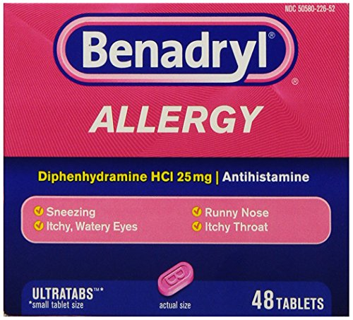 Benadryl Allergy Ultratab Tablets, 48-Count