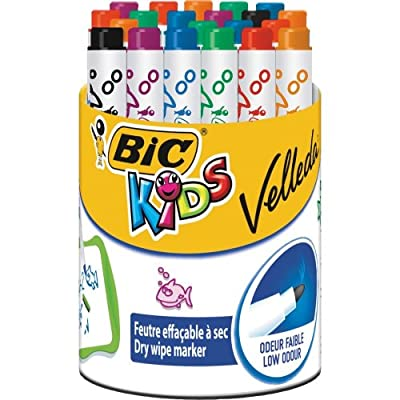 Bic Kids Mini Velleda Whiteboard Markers (Pack of 6)_PARENT_SPIG9