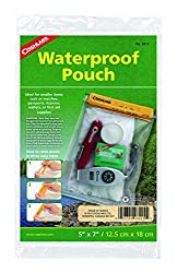 Coghlans 8415 Clear PVC Waterproof Pouch Dry Bag, 5 x 7-inch