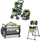Chicco Matching Stroller System High Chair and Play Yard Combo- Midori