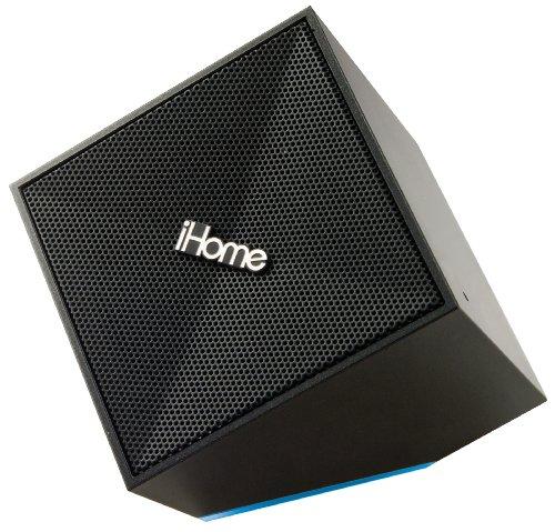 Ihome Idm11B Rechargeable Portable Bluetooth Speakers With Speakerphone - Retail Packaging (Black)