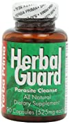 Herbal Guard Parasite Cleanse Capsules 90-Count Bottle