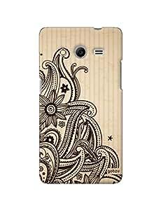 Gobzu Printed Hard Case Back Cover for Samsung Galaxy Core 2 - Design_13