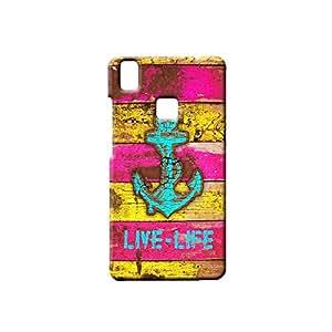 G-STAR Designer Printed Back case cover for VIVO V3 - G7924