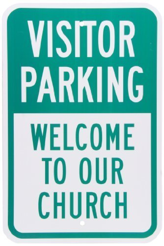 smartsign-aluminum-sign-legend-visitor-parking-welcome-to-our-church-18-high-x-12-wide-green-on-whit
