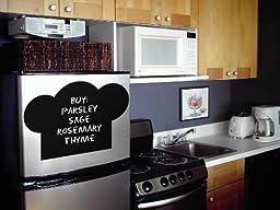 Chef Hat kitchen theme removable chalkboard - 20352