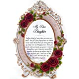 Memorial Daughter Personalised Gift Frame - Missing You, In Loving Memory, Tribute, RIP, Bereavement