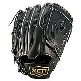 ZETT(ゼット) 硬式グラブ プロステイタスシリーズ 投手用 BPROG11 ブラック(1900) LH(右投げ用)