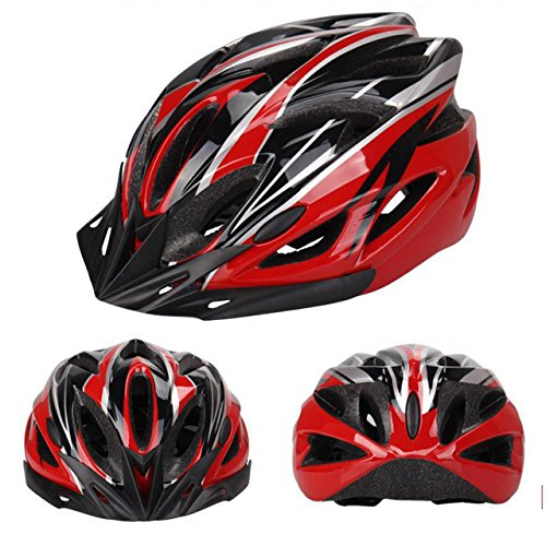 Newcomdigi-High-Quality-Wind-Cross-RoadMountain-Bike-Helmet-Cycling-EPS-Adult-Helmet-For-Safety-Protection-black-Red-White