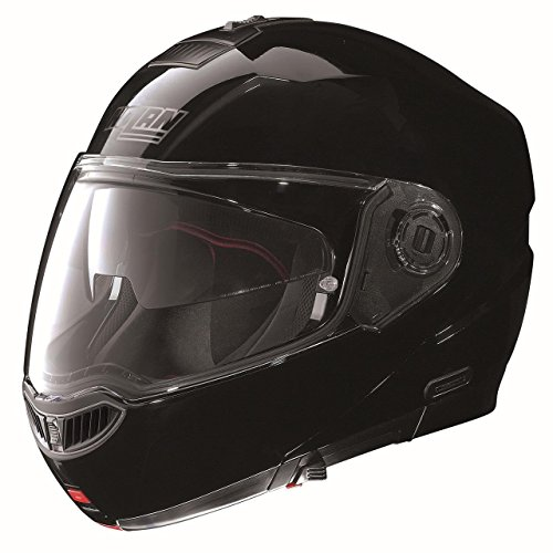 Nolan N-104 MCS Helmet (Gloss Black, Large) (Nolan N104 Modular compare prices)