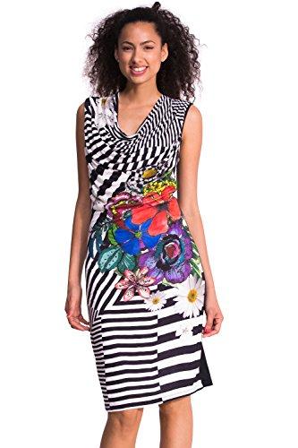 Desigual Damen Schlauch Kleid SARA, Gr. 36/S (Herstellergröße: M), Schwarz (Negro 2000) thumbnail