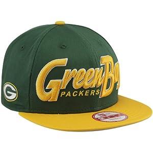 Green Bay Packers 9FIFTY Snapback New Era Hat NFL by New Era