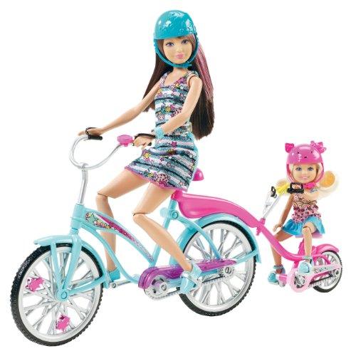 Barbie Sisters Skipper and Chelsea Bike for Two