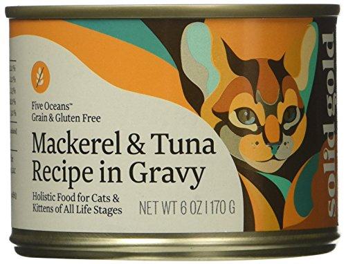 Solid Gold Solid Gold Five Oceans Holistic Wet Cat Food, Mac