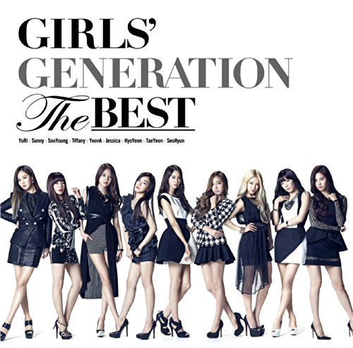 Original album cover of THE BEST(regular) by Girls' Generation (SNSD)