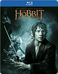 The Hobbit: An Unexpected Journey - Limited Edition Steelbook (Exclusive to Amazon.co.uk) [Blu-ray + UV Copy] [2012][Region Free]
