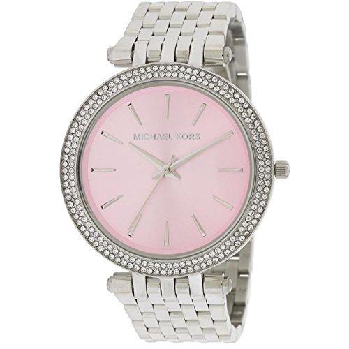 Michael Kors MK3352 39mm Silver Steel Bracelet & Case Mineral Women's Watch