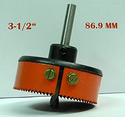 HSS Metal Hole Saw Cutter (86.9mm)