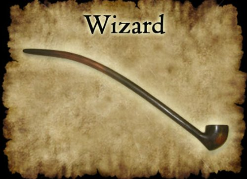 MacQueen Wooden Stem Wizard Churchwarden Briar