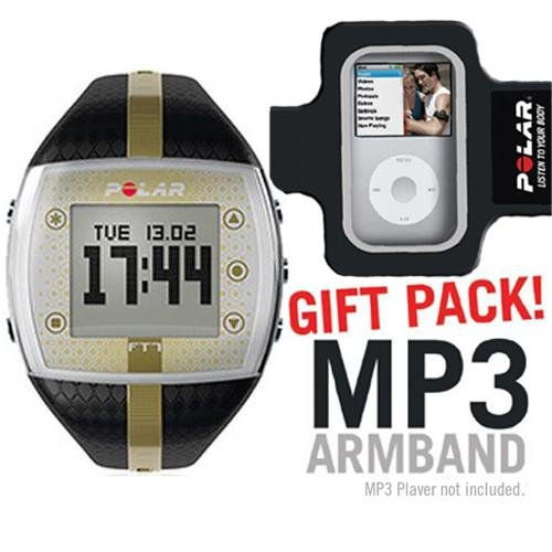 Cheap Polar 99039723 FT7F Black Gold with MP3 Armband (B003K26NU6)