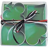 R & M Ace, Club, Diamond Heart Suit 4 Piece Cookie Cutter Set with Gift Box