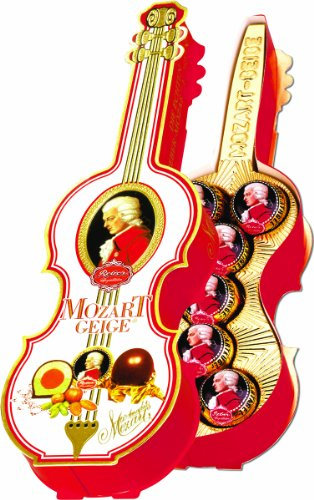 Reber Mozart Kugeln in Violin Gift Box, 4.9 Ounce (Mozart Kugeln Chocolates compare prices)