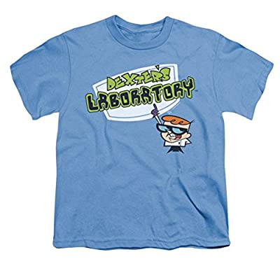 Dexter's Laboratory Title Logo Youth T-Shirt